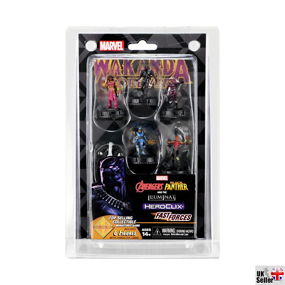 Avengers Black Panther And The Illuminati Fast Forces: Marvel HeroClix • 11.49£