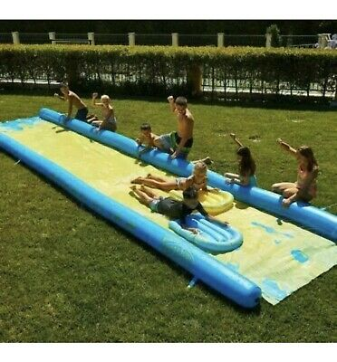 Wham-O Extra Large Water Slide 790cm Slip N Slide With Inflatable Boards 24 X4ft • 140.99£