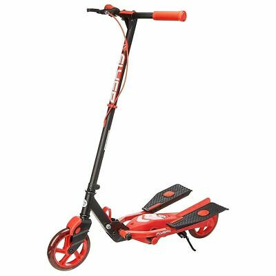 Yvolution Y Flyer Kids Foldable Pedalling Stepper Scooter Ages 7+ In Blue & Red • 49.99£
