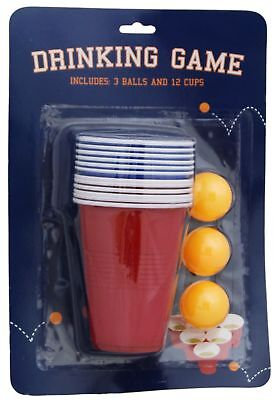 Adult Beer Pong Drinking Game For Christmas Stag Hen Parties • 2.99£