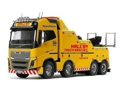 Tamiya 56362 Volvo FH16 Globetrotter 750 8x4 Tow Truck 1/14 Scale Kit • 999.95£