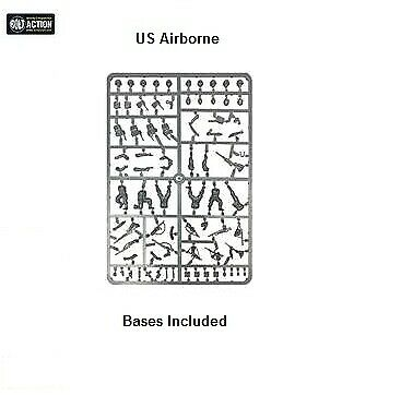 US Airborne Sprue, Bolt Action, Warlord Games. • 4.50£