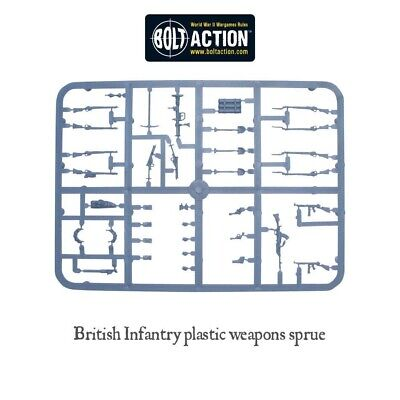 British Weapons, Plastic Sprue ,Bolt Action, Warlord Games • 2£