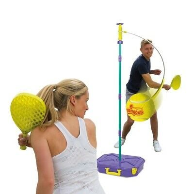Mookie Tournament All Surface Swingball Kids Adult Outdoor Indoor Play Tennis • 49.99£