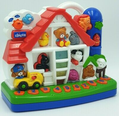Chicco Toys Talking Farm Animals Light & Sound Educational Free P&P • 13.95£