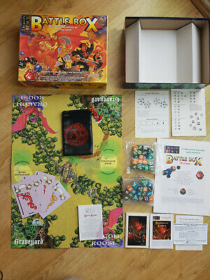 Tsr Dragon Dice Battle Box Board Game Extras And Black Dice Bag • 19.95£