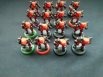 Bloodbowl Human X 16 Full Team - 2nd Edition Plastic  - OOP - GW • 12.99£