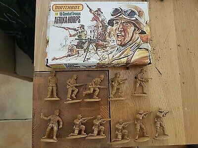 1/32 Plastic Soldiers. Matchbox Afrika Corp • 5.50£