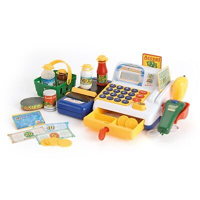 Toyrific Toy Till For Kids With Cashier, Scanner, Toy Groceries And Play Money • 24.99£