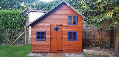 Children's Wooden Two Storey Playhouse • 172£