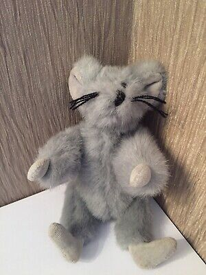 Rare 1992 TY Attic Treasure Squeaky The Grey Mouse 1st Gen Collectable • 26.50£