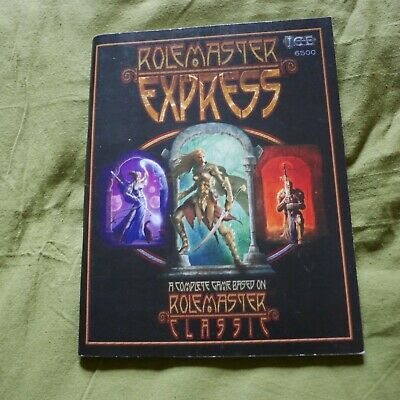 Rolemaster Express RPG ICE • 3£