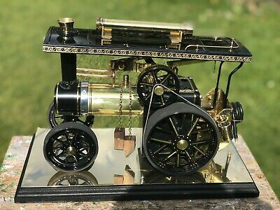 Mamod Traction Engine (TE1A) Black And Brass Show Piece • 122£