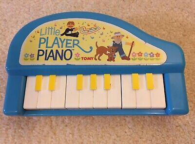 "Vintage Tomy ""Little Player"" Piano Toy • 5£"