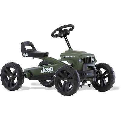 Berg Jeep Buzzy Sahara Ride On Pedal Kart - Green/Black • 130£