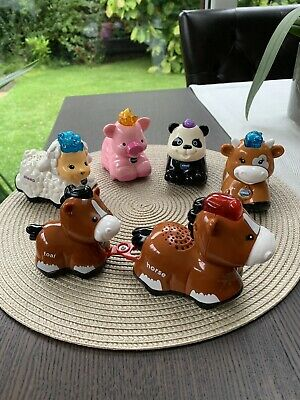 Toot Toot Farm Animals Cow Horse Foal Sheep Pig And Panda Vtech All Working • 13.99£