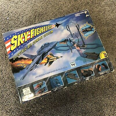 Sealed Scalextric Matchbox Sky Fighters Electric Air Combat System Complete • 27£