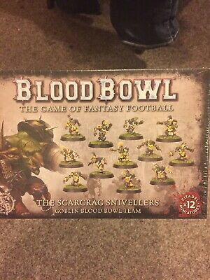 The Scarcrag Snivellers - Goblin Blood Bowl Team • 12.50£