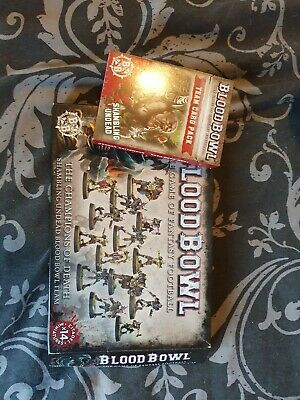 Blood Bowl Champions Of Death Team Boxed With Cards. Undead • 8.50£