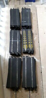 Scalextric Classic Track Joblot,long Straight Sections X 10 • 5£