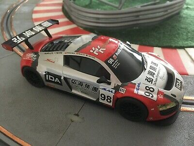 Scalextric Audi R8 GT KK Sport #98 + LIGHTS.Hard To Find-and In Super Condition • 24£