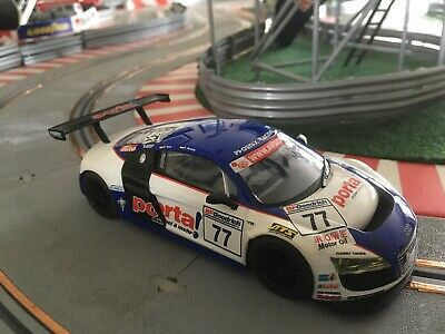 Scalextric C3286 Audi R8 GT Porta! #77. Great Used Condition And Priced To Sell • 24£