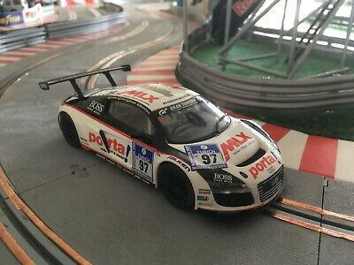 Scalextric C3232 Audi R8 GT MLX Porta #97 Club Car 2011-used In Super Condition. • 15£