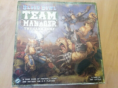Blood Bowl Team Manager The Card Game Fantasy Flight Warhammer  • 35£