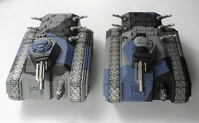 2 CHIMERA TANKS Plastic Astra Militarum Imperial Guard Painted Warhammer 40K 69 • 4.99£
