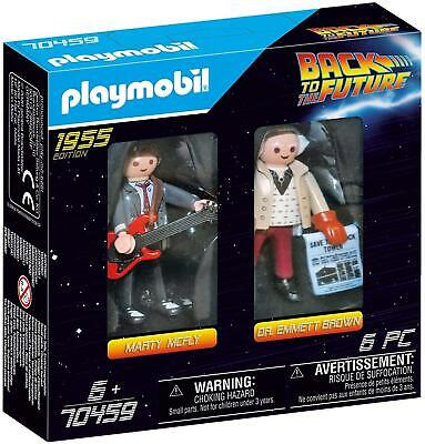 PLAYMOBIL 70459 Back To The Future Marty McFly And Dr. Emmett Brown • 8.37£
