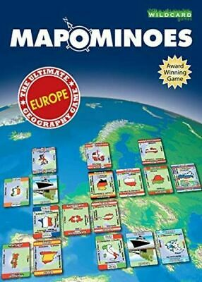 Wildcard Games Mapominoes Europe The Ultimate Geography Game. • 2.90£