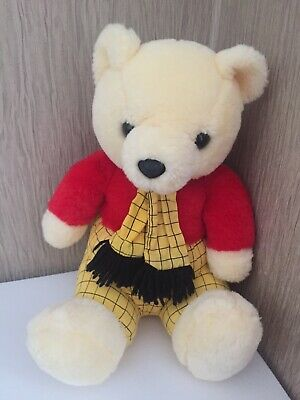 Rupert The Bear Play Makers 11  Soft Plush Toy Comforter Gift • 14.50£