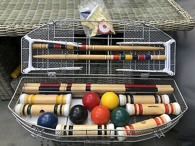 Sportcraft Croquet Set • 0.99£