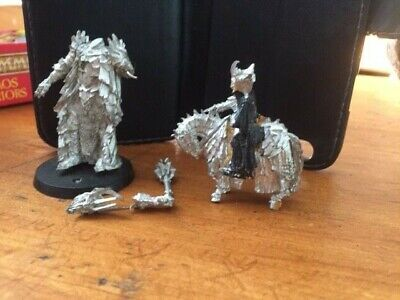 Warhammer Sauron Mounted And Standing Metal Figures Lord Of The Rings  • 10.49£