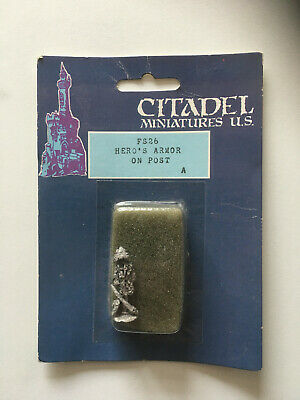 Fantasy Specials FS26 Hero's Armour On Post Citadel / Ral Partha Imports • 1.99£