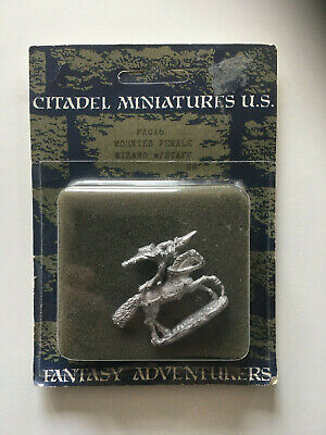 Citadel Fantasy Adventurers Cavalry FAC16 Mounted Female Wizard With Staff • 3.99£