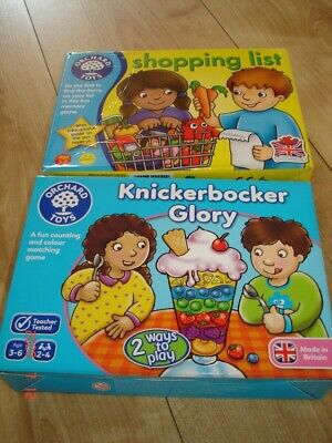 Orchard Toys Games X 2 Complete • 6.50£