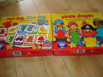 Orchard Toys Games X 2 Complete • 5.50£