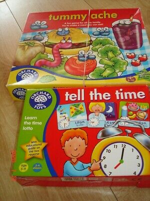 Orchard Toys Games X 2 Both Complete • 5.50£