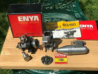 Enya Super Sport SS45 Nitro Engine In Great Condition • 39.99£