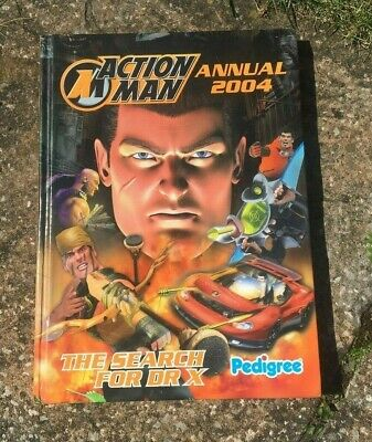 Action Man Annual 2004 The Search For Dr X • 3£