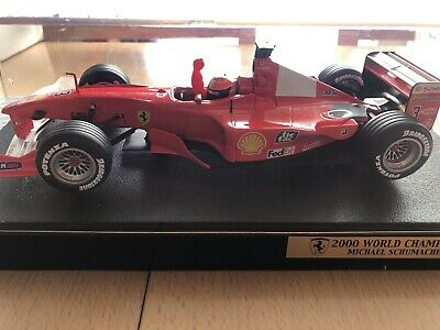 Hotwheels Michael Schumacher Ferrari 1:18 2000 World Champion • 25£