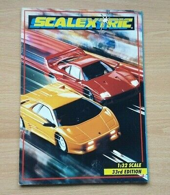 Scalextric Catalogue - 33rd Edition - 1992 • 6.99£