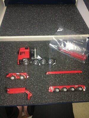 Conrad Nzg 1.50 Nooteboom Lowbed Low Loader Mint Boxed Man E2000 Plain Red • 109.99£