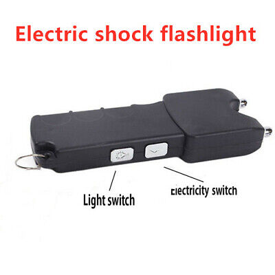 Prank Stun Rod Flashlight Gadget Shocker Electric Shock Toys Plastic Prank Trick • 3.39£