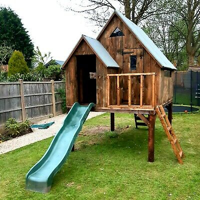 Bespoke Wooden Playhouse Treehouse - Any Size Any Design • 1,800£