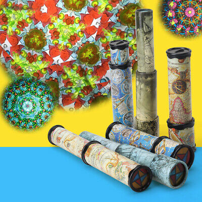 21cm Kaleidoscope Children Toys Kids Educational Science Classic Toys Gifts • 5.99£