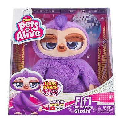 Pets Alive Fifi The Flossing Sloth • 20£