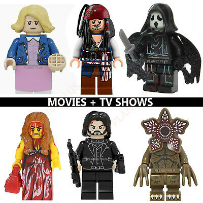Horror Marvel Movie TV CUSTOM Lego Mini Figures Stranger Things John Wick Jigsaw • 2.49£