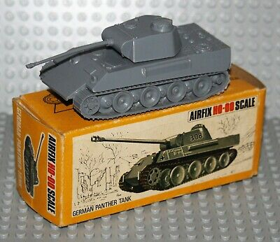Ho/oo Vintage Airfix Poly German Panther Tank With Box • 15£